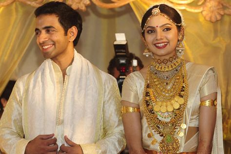 Mallu Actress Samvritha Sunil Wedding Jewellery Jewelry Pinterest