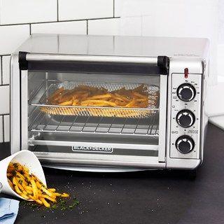 Black Decker Crisp N Bake Convection Air Fry Oven Kohls In 2020 Convection Oven Recipes Countertop Oven Convection Oven Cooking