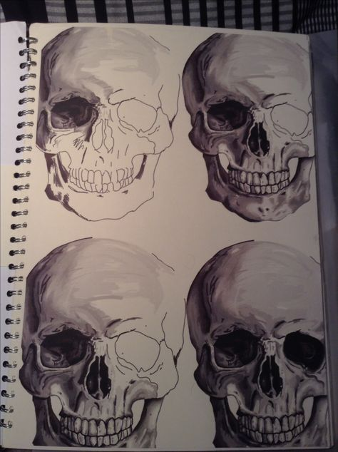 Create a series of studies of the same thing - vary the shade, colour, tone, media etc. for each.