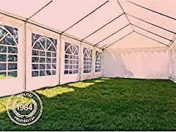 Partyzelt 4x8m Pvc 500 G M Dunkelgrun Wasserdicht Gartenzelt