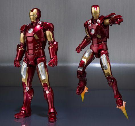 Marvel Tamashii Nations Iron Man MK-7 Hall of Armor S.H. Figuarts