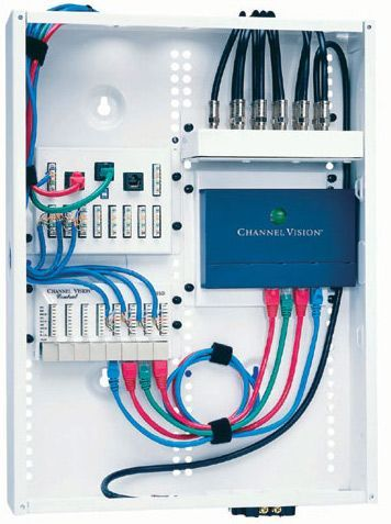 Low Voltage Panel Home Automation Project Smart Home Automation Home Network