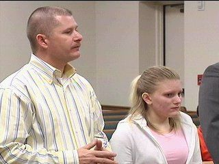 Erin Caffey / She had three accomplices, including her boyfriend, and is now 24 having been in prison for around.