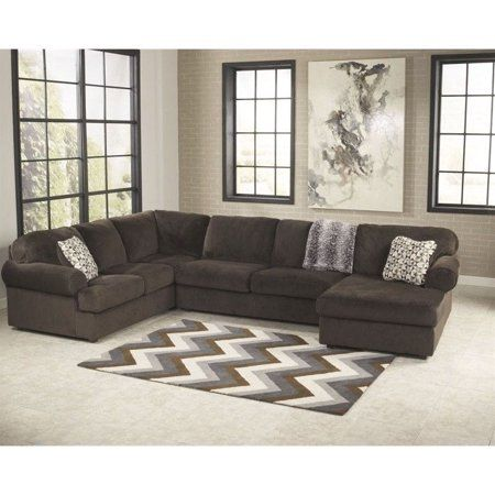 Signature Design By Ashley Furniture Jessa Place Sectional Sofa In