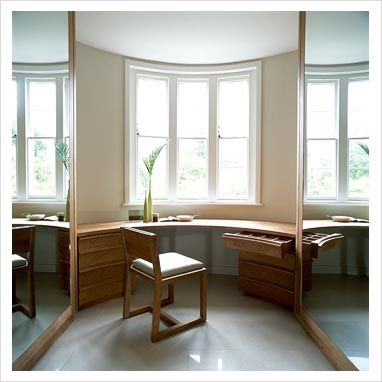 Curved Built In Dressing Table Built In Dressing Table Bay Window Dressing Dressing Table Under Window