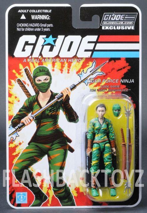 Tiger Force Jinx FSS 7.0 MOC Gi Joe Club Exclusive