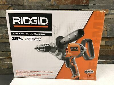"Model R7122 New RIDGID 1//2/"" Spade Handle Mud Mixer"