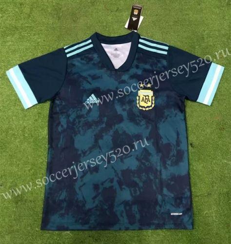 2020 2021 Argentina Away Dark Blue Thailand Soccer Jersey Aaa 403 Soccer Jersey Football Shirts Soccer
