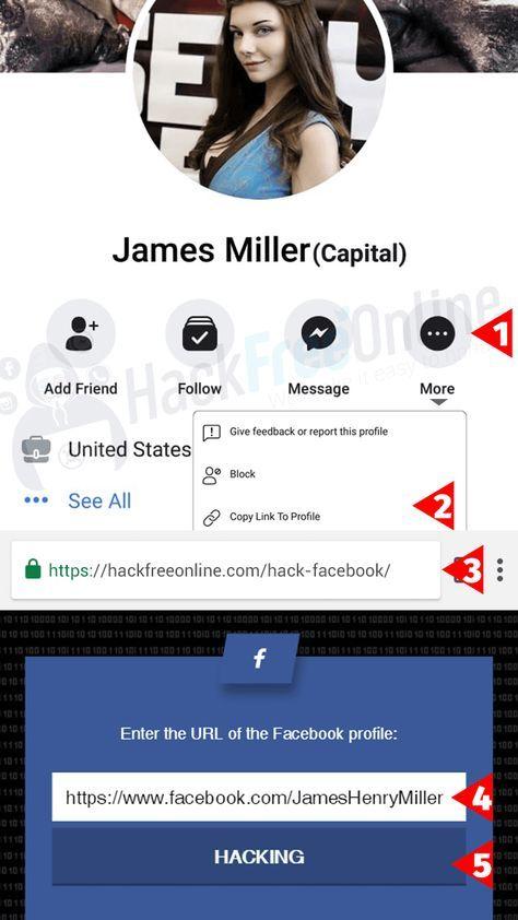 how to hack a Facebook account | Hackfreeonline in 2019