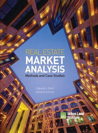 PDF DOWNLOAD] Real Estate Market Analysis: Methods and Case Studies