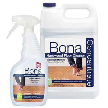 Bona Hardwood Floor Cleaner Concentrate 128 Fl Oz Refill 32 Fl Oz Spray Bottle Floor Cleaner Hardwood Floor Cleaner Bona Floor Cleaner