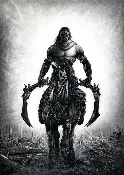 Horseman In Darksiders 2 Wallpapers In 2019 Darksiders 2