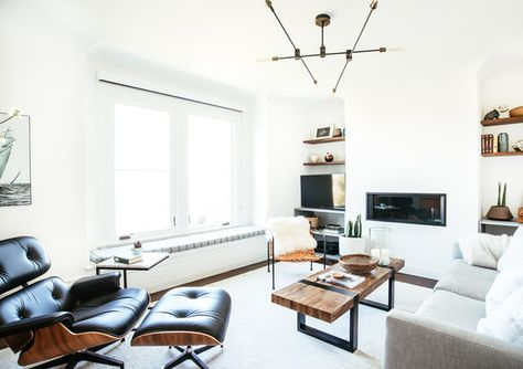 Modern Living - A Modern S.F. Bachelor Pad That Gets It Right - Photos