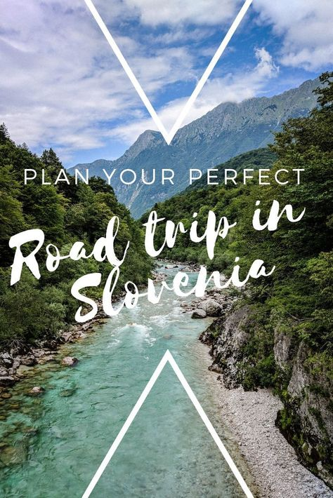 How to plan the perfect road trip in Slovenia. This ultimate 10-day Slovenia road trip itinerary takes you through Soca River, Lake Bled, Brda - the wine country, Ljubljana and much more! #Slovenia #roadtrip #ljubljana #LakeBled #Europe #travel #SocaRiver #Piran #brda
