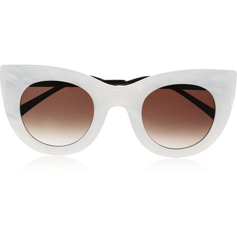 68716f26e0b Thierry Lasry Cheeky cat-eye acetate sunglasses (8 925 ZAR) ❤ liked on  Polyvore featuring accessories