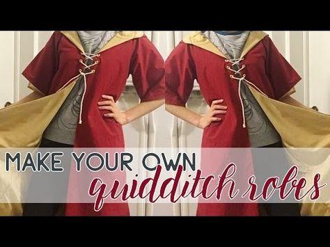 3806fd96de1 DIY Hufflepuff Quidditch Uniform