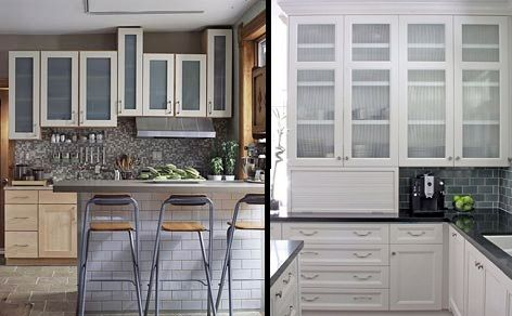 Unfinished Kitchen Cabinets on Kitchen Cabinets Glass Door On