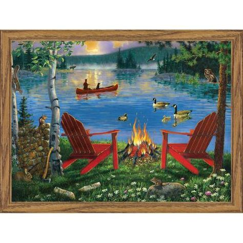 Wood Frame 13.4 X17.3 Paint by Number Kits Sika Deer FramedPBN Paint by Numbers for Adults