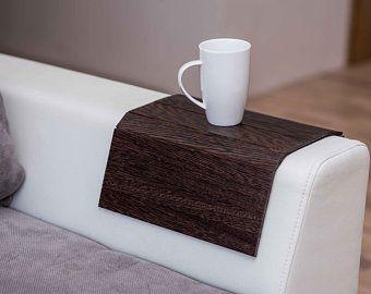 Sofa Arm Table Wood Sofa Arm Tray Sofa Arm Sofa Tray Sofa Tray Etsy Wood Sofa Sofa Arm Table Wooden Accessories