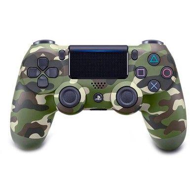 Kabum Controle Sony Dualshock 4 Sem Fio Ps4 Camuflado Cuh Zct2u Consoles De Videogame Ps4 Controle De Ps4