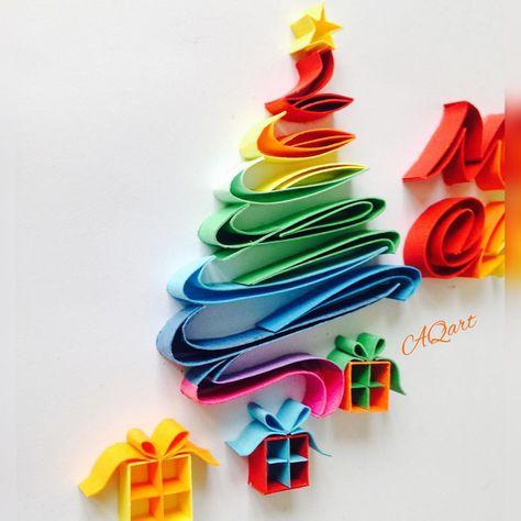 "AQart on Instagram: ""Colorful Christmas mood 🎄🌈"""