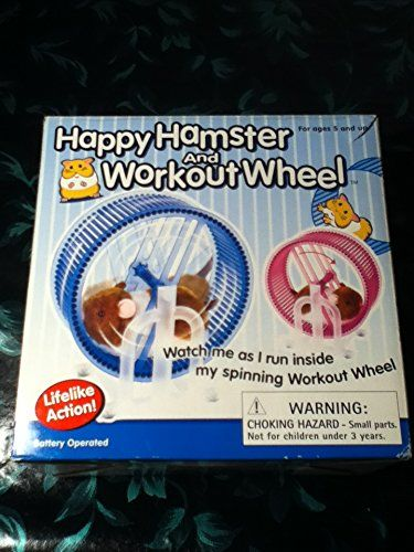 Happy Hamster Pet With Wheel Runner Battery Operated Kids Toy Click Picture To Review Even More Information This Is An Affilia Kids Toys Small Pets Hamster
