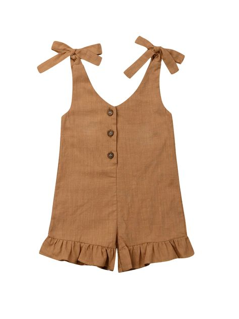 Toddler Girl Romper, Toddler Girl Outfits, Baby Outfits, Newborn Girl Outfits, Toddler Girls, Boho Romper, Ruffle Romper, Baby Girl Fashion, Kids Fashion