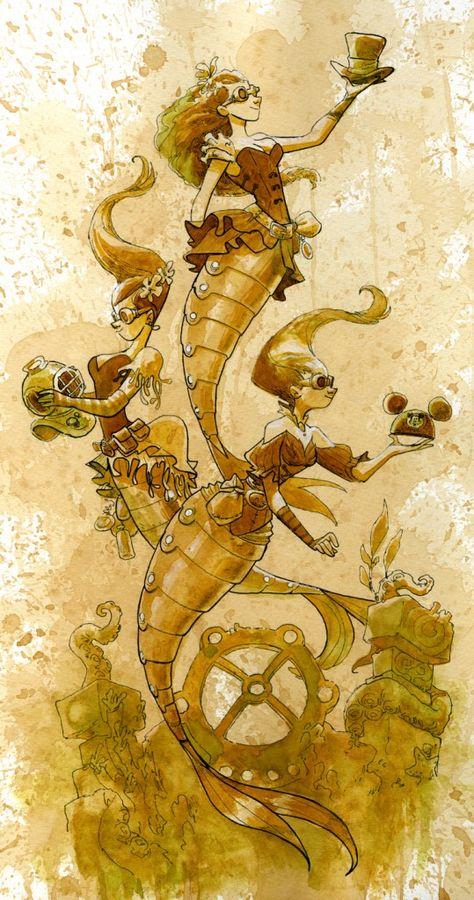Steampunk Tendencies | BrianKesinger-steampunk-mechnical-kingdoms-1