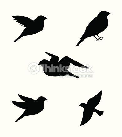 dibujos de pajaros volando tumblr  Buscar con Google  Stencil