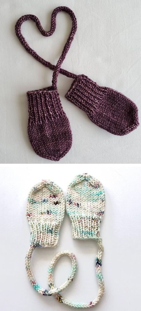 Teeny-tiny Knit Mitts - Free Pattern - Knitting is as easy as 3 Das S . Teeny-tiny Knit Mitts - Free Pattern - Knitting is as easy as 3 Das S .