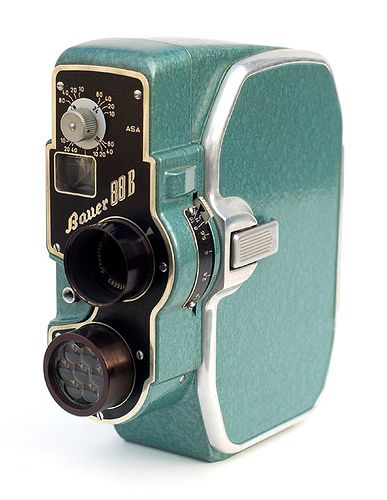 Bauer Super 8 Camera sure if I would ever know how to use this but I love the idea of an old camera!