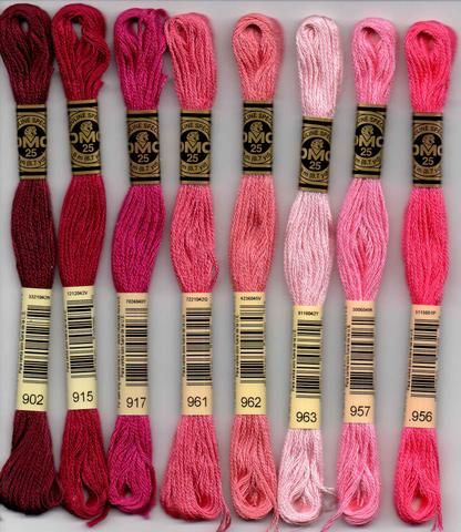New Quality 1 X Each Cerise Pink /& Pink Sewing Cotton Thread Hand //Machine.