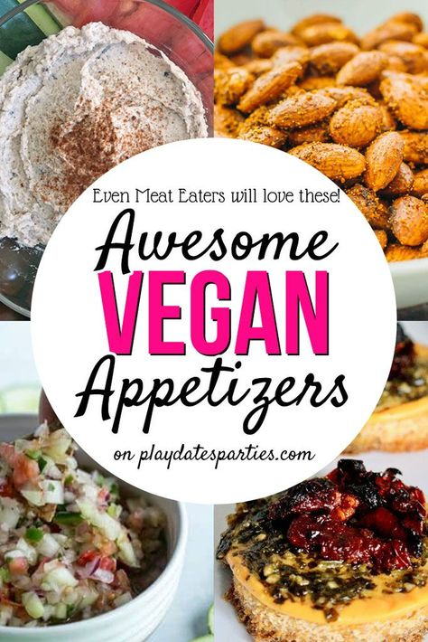 Pin On Vegan Party Appetizers