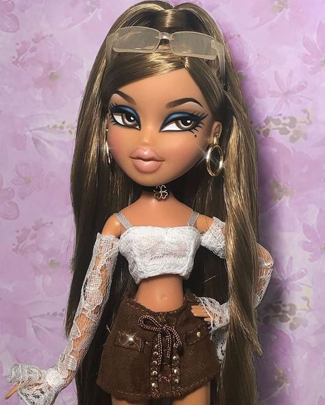"""- """" Best Picture For trends popular For Your Taste You are lo - Bratz Doll Makeup, Bratz Doll Outfits, Bob Mackie, Diana Ross, Bratz Doll Halloween Costume, Halloween Makeup, Halloween Halloween, Vintage Halloween, Black Bratz Doll"""