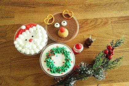 노오븐 크리스마스컵케이크 만들기 산타 루돌프 리스 3종세뚜 네이버 블로그 크리스마스 컵케이크 크리스마스 쿠키 포장 컵 케이크