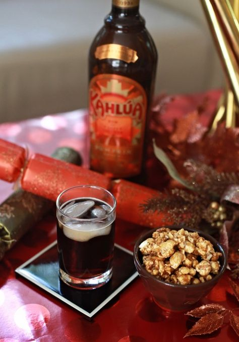 Remixing a Classic Cocktail: the @Kahlua Pumpkin Parachute!