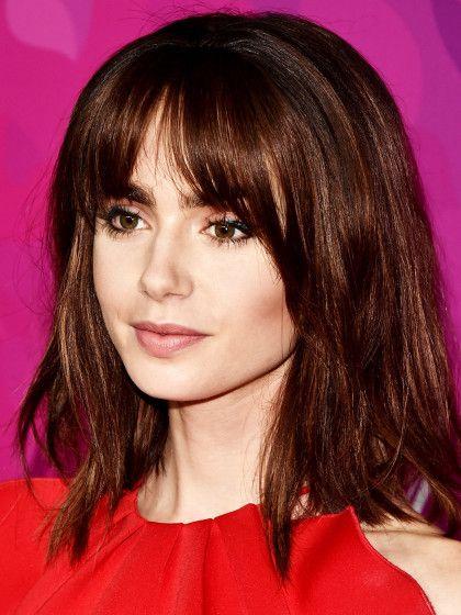 Das Sind Die Schönsten Styles Von Lily Collins Frisuren