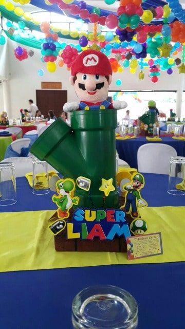 X2 diseño de banner personalizado de cumpleaños Luigi Niños Niños Regalo Fiesta Decoración