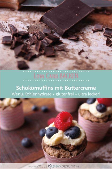 Photo of Schokoladenmuffins mit Donautopping