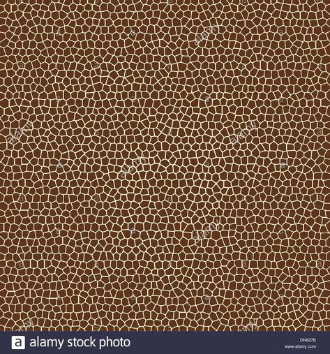 vector animal skin textures of giraffe Stock Vector Art