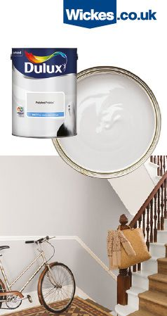 Wickes Have A Wide Range Of Colours Available For You To Brighten Up Any Space In Your Home Shabby Chic Paint Colours Shabby Chic Colors Dulux Polished Pebble