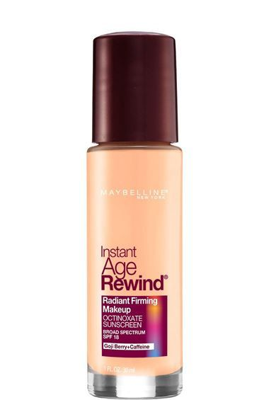 Instant Age Rewind Radiant Firming Makeup Foundation Maybelline Age Rewind Maybelline No Foundation Makeup