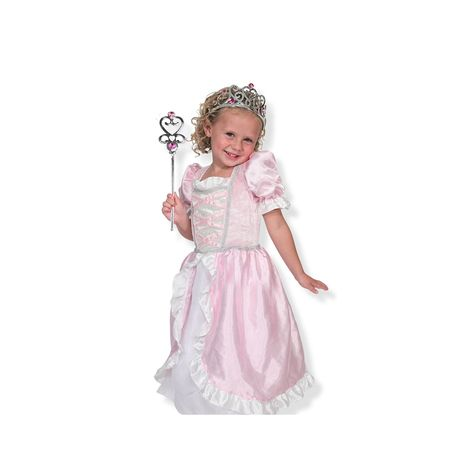 62f0c0e660990 Melissa & Doug Princess Role Play Costume Set | Products | Princess ...
