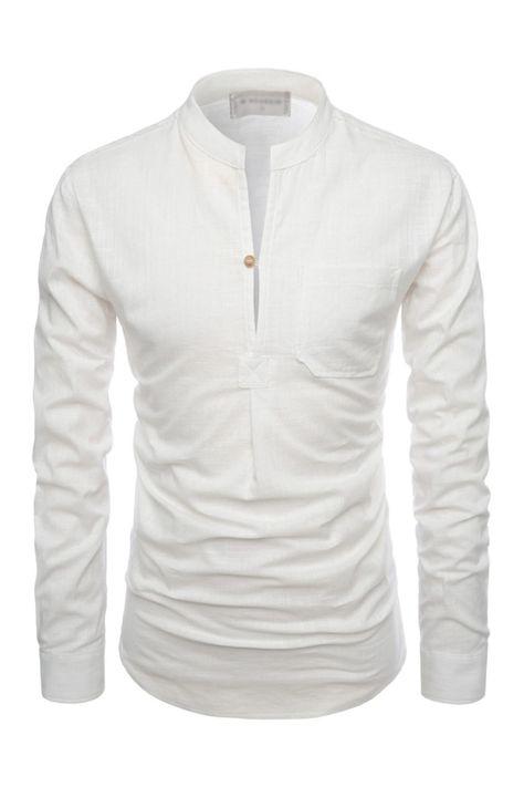 10++ Mens mandarin collar shirt ideas ideas