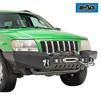 Eag 1999 2004 Jeep Grand Cherokee Wj Off Road Front Bumper With