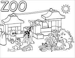 Resultado De Imagen Para Zoo Para Pintar Zoo Dibujos Pintar