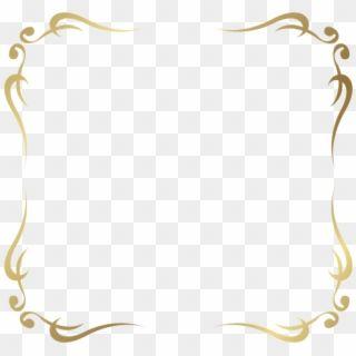 Free Png Download Decorative Frame Border Clipart Png Decorative Gold Borders Png Transparent Png Clip Art Borders Flower Frame Png Calligraphy Design