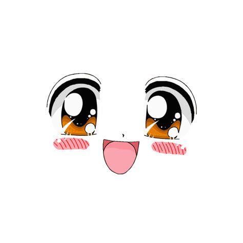Cute Roblox Girl Face Cute Animal Clipart Chibi Eyes Roblox