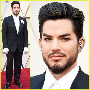 Adam Lambert Hits Oscars 2019 Red Carpet Before Performance With Queen Adam Lambert Performance Adams