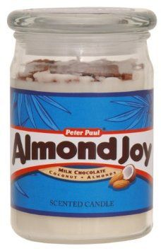 Amazon.com: Hershey's by Hanna's Candle 17-Ounce Almond Joy Jar Candle: Home & Kitchen